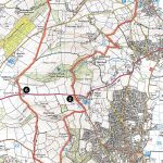 Ordnance Survey May from Beer to Colyton