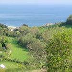 Sea view in Branscombe, Devon