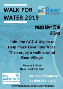 Walk for water BEER DEVON