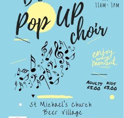 Pop up Choir coming to Beer