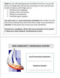 Beer Community COVID plan