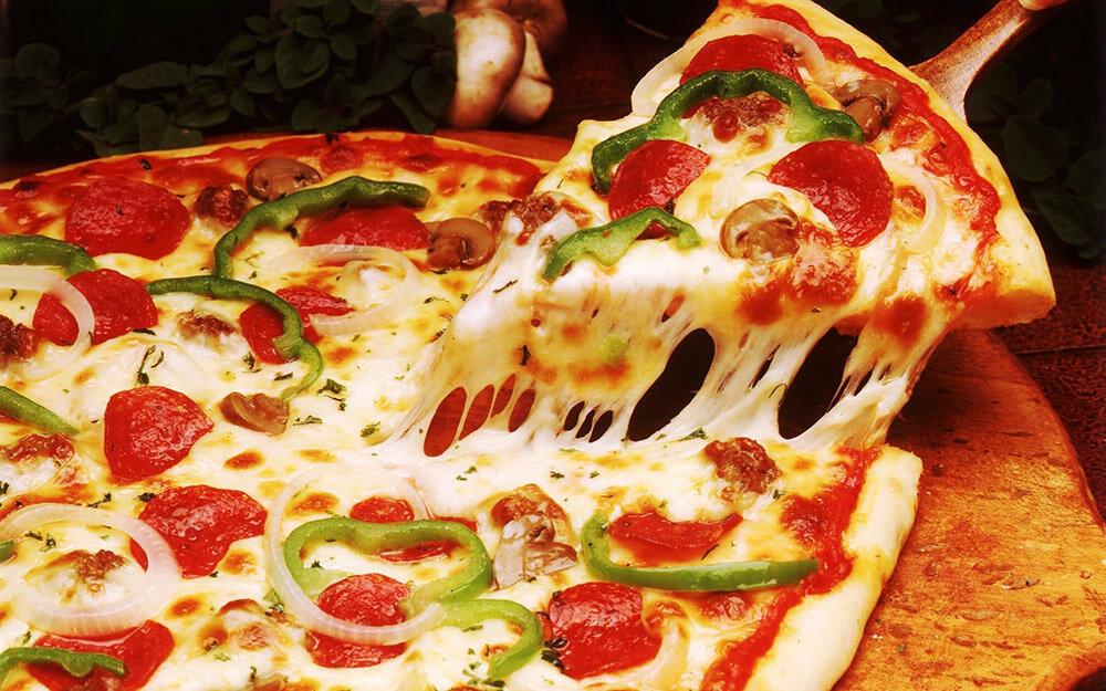 Pizza at Beer Head Bistro